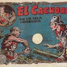 Tebeos: EL CACHORRO Nº 99, IRANZO. EDITORIAL BRUGUERA, ORIGINAL 1955. EL CACHORRO EN LA ISLA CORSARIA. Lote 121695503