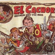 Tebeos: EL CACHORRO Nº 101, IRANZO. EDITORIAL BRUGUERA, ORIGINAL 1955. EL CACHORRO ABORDA UNA VEZ MÁS. Lote 121696031