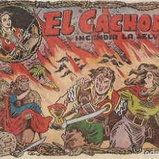Tebeos: EL CACHORRO Nº 29, IRANZO. EDITORIAL BRUGUERA, ORIGINAL 1952. EL CACHORRO INCENDIA LA SELVA. Lote 121696847