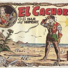 Tebeos: EL CACHORRO Nº 56, IRANZO. EDITORIAL BRUGUERA, ORIGINAL 1953. EL CACHORRO EN LA ISLA DEL HAMBRE. Lote 245426080