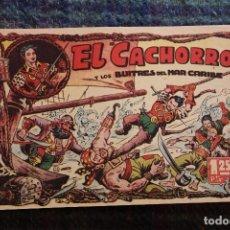 Tebeos: EL CACHORRO Y LOS BUITRES DEL MAR CARIBE. . Lote 121724235