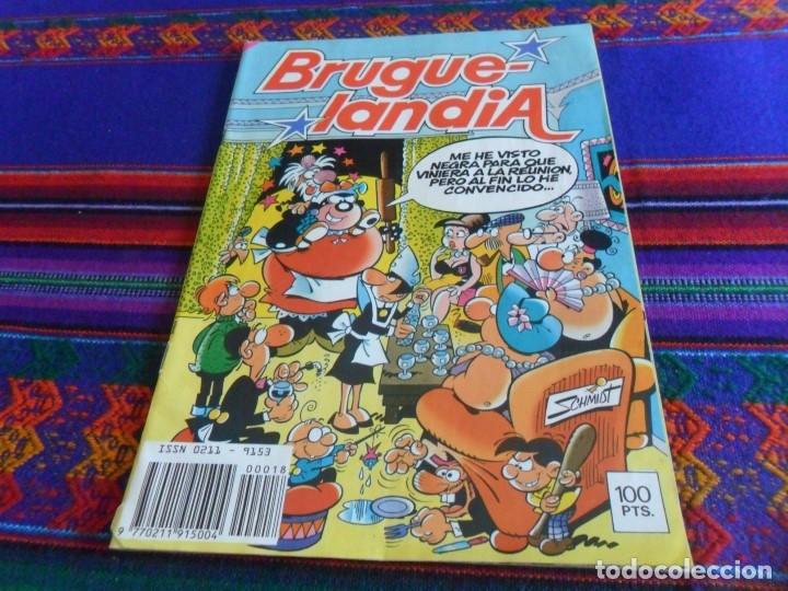 BRUGUELANDIA NºS 10 CON INSPECTOR DAN Y 18. BRUGUERA 1982. 100 PTS. Y DIFÍCILES!!!!! (Tebeos y Comics - Bruguera - Inspector Dan)