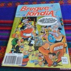 Tebeos: BRUGUELANDIA NºS 10 CON INSPECTOR DAN Y 18. BRUGUERA 1982. 100 PTS. Y DIFÍCILES!!!!!. Lote 13773244