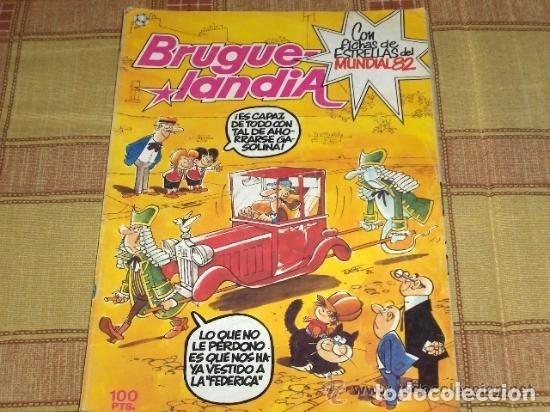 Tebeos: BRUGUELANDIA NºS 10 CON INSPECTOR DAN Y 18. BRUGUERA 1982. 100 PTS. Y DIFÍCILES!!!!! - Foto 2 - 13773244