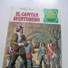 Tebeos: JOYAS LITERARIAS JUVENILES Nº 74. EL CAPITAN AVENTURERO BRUGUERA CS121. Lote 121730851