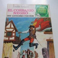 Tebeos: JOYAS LITERARIAS JUVENILES. Nº 95. EL CORSARIO NEGRO BRUGUERA CS121. Lote 121730935