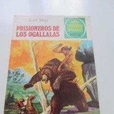 Tebeos: JOYAS LITERARIAS. Nº Nº 163 PRISIONEROS DE LOS OGALLALLAS BRUGUERA CS121. Lote 121731067