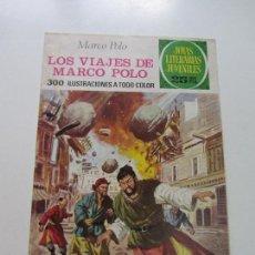 Tebeos: JOYAS LITERARIAS. Nº 166. LOS VIAJES DE MARCO POLO BRUGUERA CS121. Lote 121731123