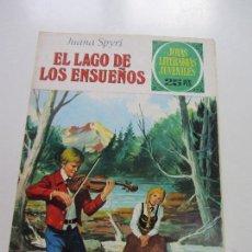 Tebeos: JOYAS LITERARIAS JUVENILES Nº 175. EL LAGO DE LOS ENSUEÑOS DIFICIL BRUGUERA CS121. Lote 121731255