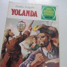 Tebeos: JOYAS LITERARIAS JUVENILES Nº 205: YOLANDA DIFICIL BRUGUERA CS121. Lote 121731279
