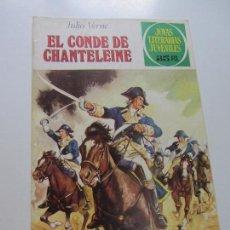 Tebeos: JOYAS LITERARIAS JUVENILES Nº 208. EL CONDE DE CHANTELEINE BRUGUERA CS121. Lote 121731315
