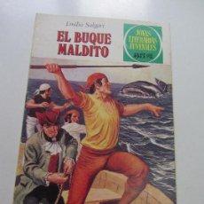 Tebeos: JOYAS LITERARIAS JUVENILES Nº 226 EL BUQUE MALDITO - EMILIO SALGARI BRUGUERA CS121. Lote 121731355