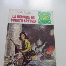 Tebeos: JOYAS LITERARIAS JUVENILES - Nº 236 - LA HEROINA DE PUERTO ARTURO EMILIO SALGARI BRUGUERA CS121. Lote 121731375
