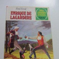 Tebeos: JOYAS LITERARIAS JUVENILES - Nº 27 - ENRIQUE DE LAGARDERE BRUGUERA CS121. Lote 121731411