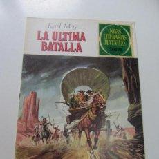 Tebeos: JOYAS LITERARIAS JUVENILES Nº 178 LA ÚLTIMA BATALLA BRUGUERA CS121. Lote 121731431