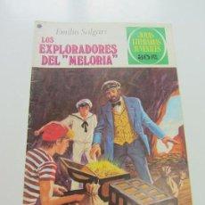 Tebeos: JOYAS LITERARIAS JUVENILES Nº 190 LOS EXPLORADORES DEL MELORIA BRUGUERA CS121. Lote 121731675