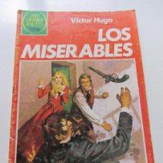 Tebeos: JOYAS LITERARIAS JUVENILES Nº 263 LOS MISERABLES. BRUGUERA 1983. 75 PTS. MUY RARO Y ESCASO . CS121. Lote 121825635