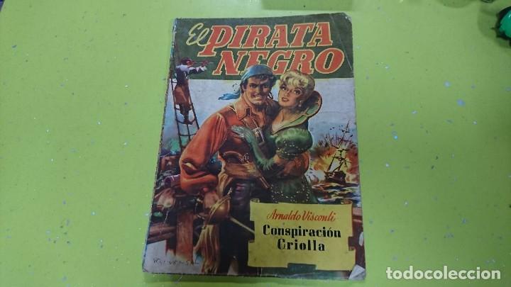 EL PIRATA NEGRO - CONSPIRACIÓN CRIOLLA - ARNALDO VISCONTI - BRUGUERA (Tebeos y Comics - Bruguera - Otros)