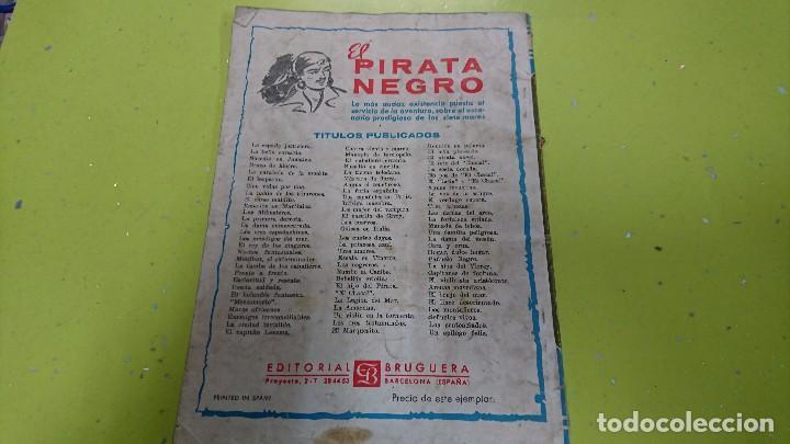 Tebeos: EL PIRATA NEGRO - CONSPIRACIÓN CRIOLLA - ARNALDO VISCONTI - BRUGUERA - Foto 4 - 121908247