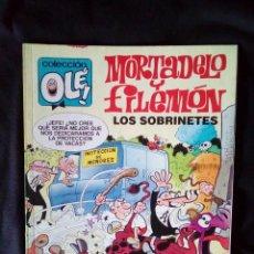 Tebeos: MORTADELO Y FILEMON LOS SOBRINETES 343-M.110 PRIMERA EDICION 1988. Lote 121917387
