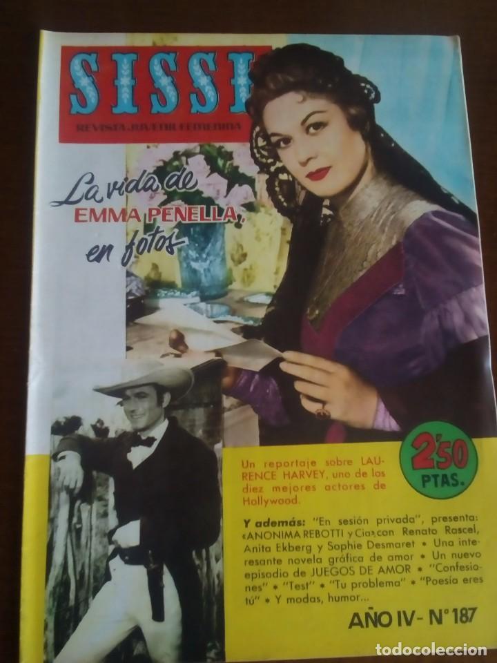 SISSI JUVENIL FEMENINA N- 187 (Tebeos y Comics - Bruguera - Sissi)