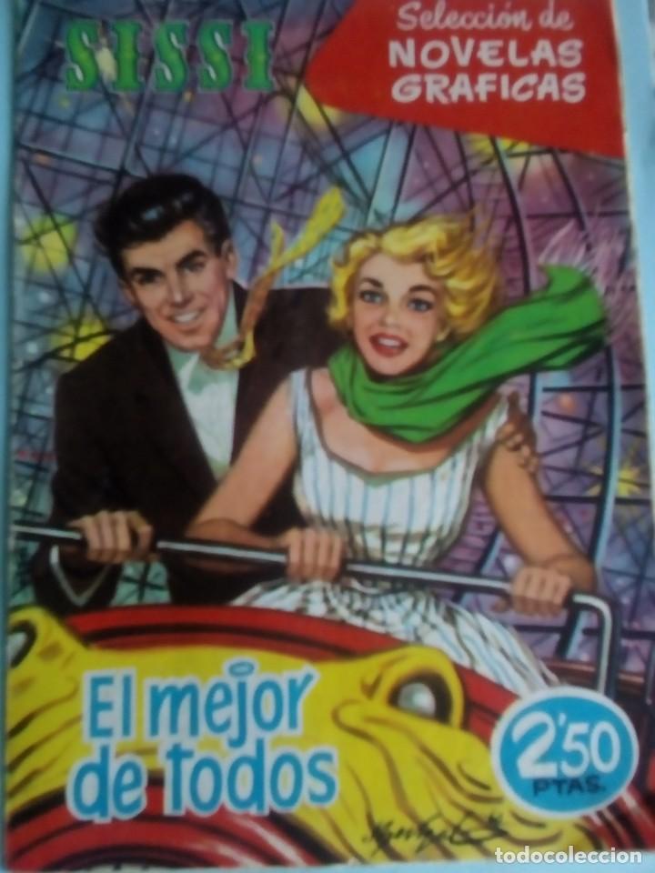SISSI SELECCION DE NOVELAS GRAFICAS N-86 (Tebeos y Comics - Bruguera - Sissi)