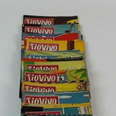 Tebeos: COLECCIÓN DE 45 TIOVIVO.EDICIONES BRUGUERA. BARCELONA. 1957-1960.. Lote 121995123