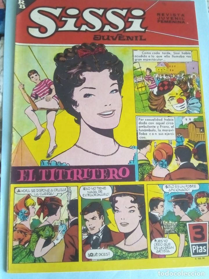 SISSI REVISTA JUVENIL FEMENINA N-223 (Tebeos y Comics - Bruguera - Sissi)