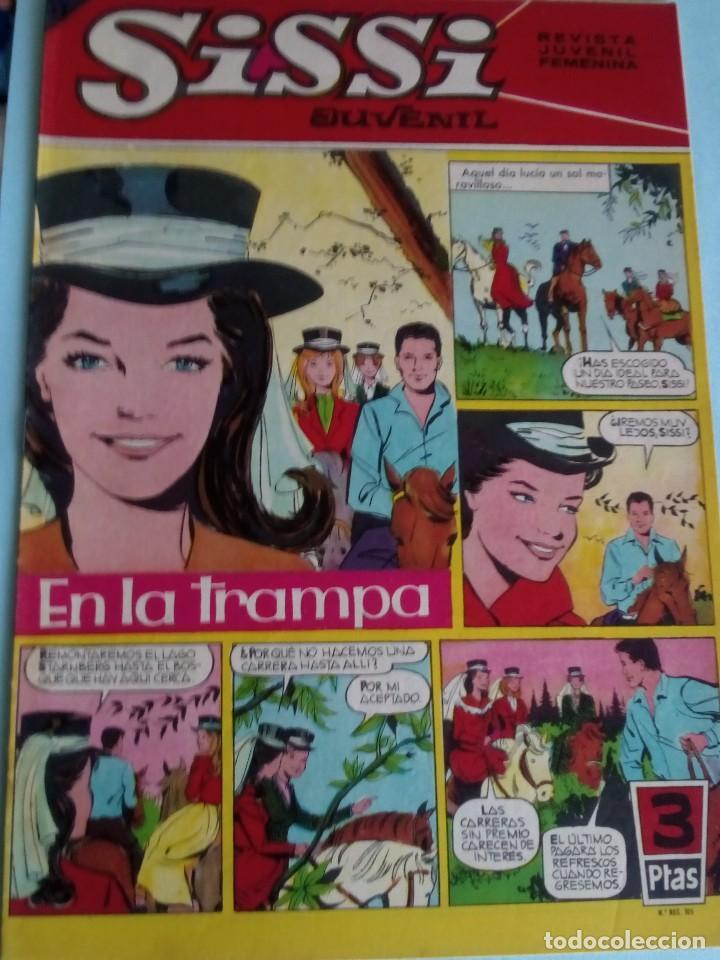 SISSI REVISTA JUVENIL FEMENINA N-222 (Tebeos y Comics - Bruguera - Sissi)
