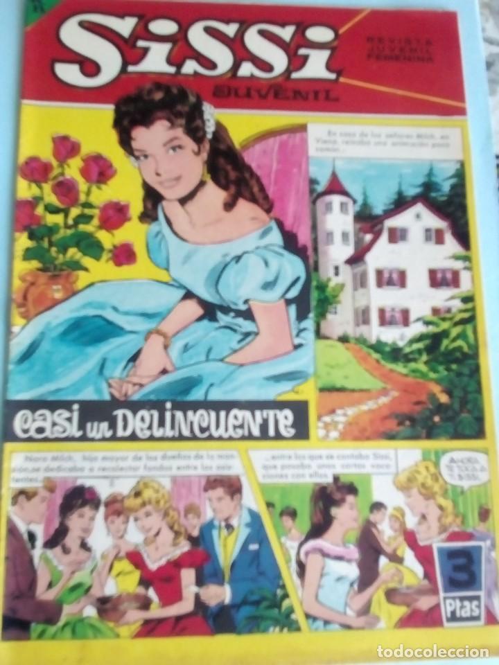 SISSI REVISTA JUVENIL FEMENINA N-214 (Tebeos y Comics - Bruguera - Sissi)