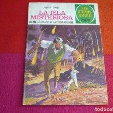 Tebeos: JOYAS LITERARIAS JUVENILES Nº 13 LA ISLA MISTERIOSA ( VERNE ) 25 PTS 1975 3ª EDICION BRUGUERA. Lote 122070027