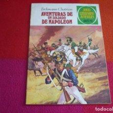 Tebeos: JOYAS LITERARIAS JUVENILES Nº 15 AVENTURAS DE UN SOLDADO DE NAPOLEON 35 PTS 1979 5ª EDICION. Lote 122072731