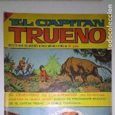 Tebeos: * EL CAPITAN TRUENO EXTRA * ED. BRUGUERA 1960 * LOTE DE 6 Nº DE 5 PTAS. *. Lote 122092439