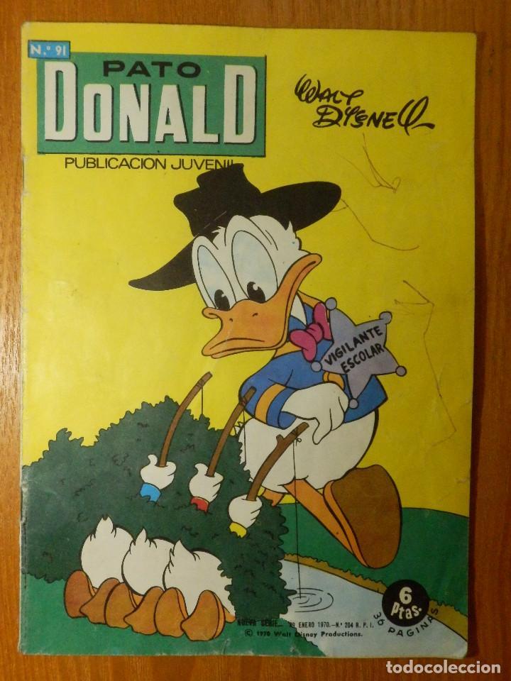 COMIC - PATO DONALD - Nº 91 - ERSA 1970 - (Tebeos y Comics - Bruguera - Otros)
