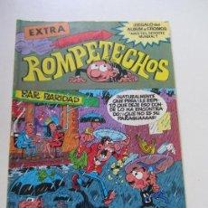 Tebeos: ROMPETECHOS EXTRA Nº 7 RIENDO BAJO EL PARAGUAS CONTIENE LOS CROMOS BRUGUERA CS122. Lote 122098267