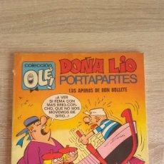 Tebeos: DOÑA LÍO PORTAPARTES - 1° EDICIÓN - BRUGUERA 1971 - OLE 65. Lote 122111531