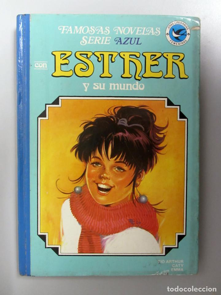 ESTHER Y SU MUNDO. Nº 9. 1ª EDICIÓN 1984. EDITORIAL BRUGUERA. TAPAS DURAS. (Tebeos y Comics - Bruguera - Esther)