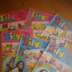 Tebeos: 6 COMIC LILY. Lote 122162607