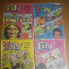 Tebeos: 4 COMIC LILY. Lote 122162639