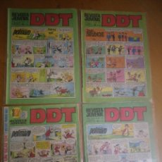 Tebeos: 4 COMIC DDT. Lote 122162723