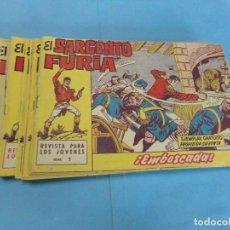 Tebeos: 33 TEBEOS EL SARGENTO FURIA,ORIGINAL, FALTAN 27-35-36.. Lote 122171787