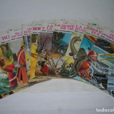 Tebeos: LOTE DE 11 JOYAS LITERARIAS JUVENILES DIFERENTES DE EDITORIAL BRUGUERA DE LOS AÑOS 70. Lote 122224311