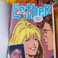 Tebeos: ESTHER TEBEOS ENCUADERNADOS 1981. Lote 122256355