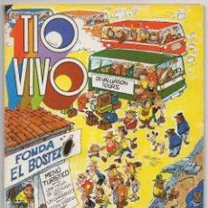 Tebeos: TIO VIVO EXTRA VERANO (BRUGUERA 1976) CON JOHN HAZARD Y BRIGADA ESPECIAL.. Lote 122331263