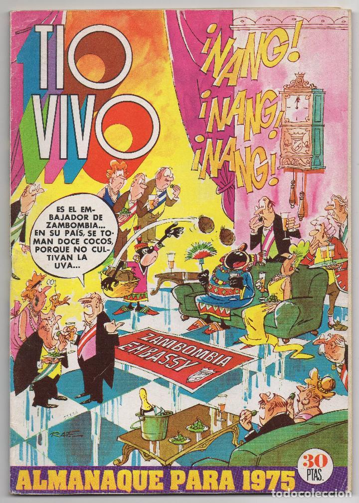 TIO VIVO ALMANAQUE 1975 (BRUGUERA 1974) (Tebeos y Comics - Bruguera - Tio Vivo)
