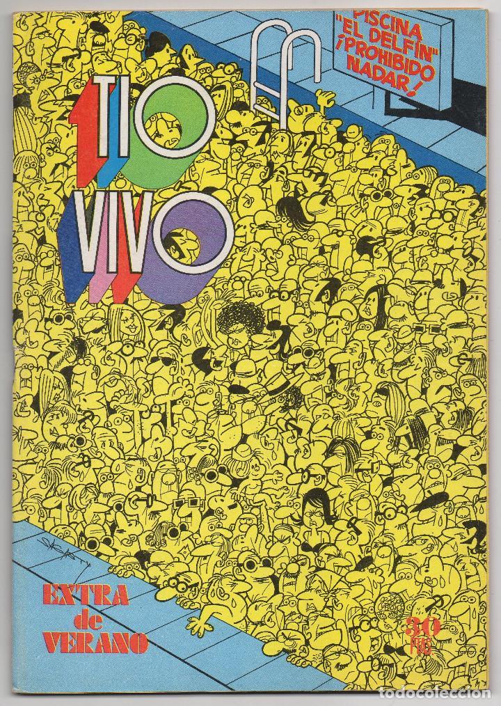 TIO VIVO EXTRA VERANO (BRUGUERA 1974) CON MICHEL VAILLANT. (Tebeos y Comics - Bruguera - Tio Vivo)