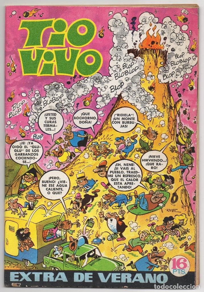 TIO VIVO EXTRA VERANO (BRUGUERA 1971) CON REX DE LOS MARES DEL SUR DE CARRILLO. (Tebeos y Comics - Bruguera - Tio Vivo)