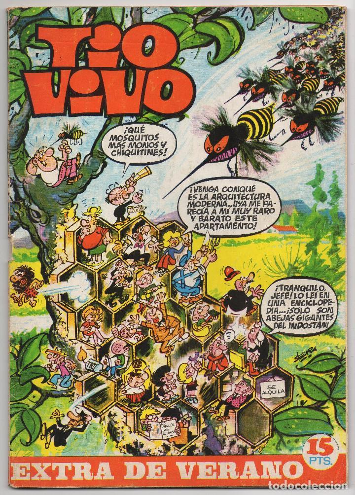 TIO VIVO EXTRA VERANO (BRUGUERA 1970) (Tebeos y Comics - Bruguera - Tio Vivo)