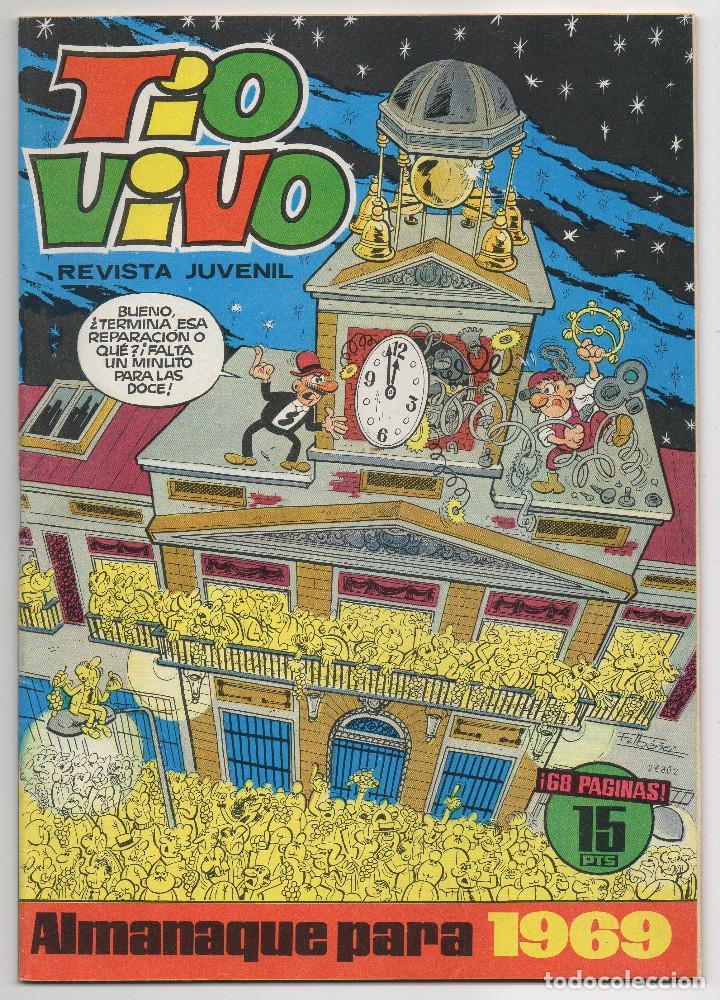 TIO VIVO ALMANAQUE 1969 (BRUGUERA 1968) AVENTURA DE CARRILLO. (Tebeos y Comics - Bruguera - Tio Vivo)