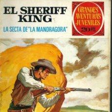 Tebeos: SHERIFF KING - LA SECTA DE LA MANDRAGORA - BRUGUERA 1975 2ª ED. - GRANDES AVENTURAS JUVENILES Nº 30. Lote 122344431